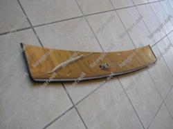 Защитная накладка на задний бампер Renault Duster с загибом вниз #932477