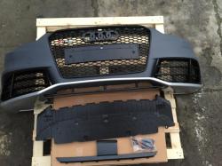 Передний бампер Audi A5 стиль RS5 (2012-2015) с решеткой радиатора 8T0807065BGRU