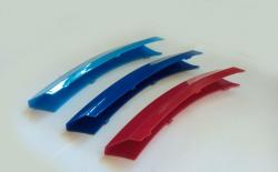 Накладки на решетку радиатора M-style BMW X6 E71 2008-2011