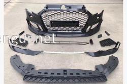 Бампер передний RS3 Audi A3 2012-2015 (седан)