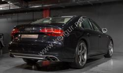 Диффузор заднего бампера S8 Audi A8 D4 с 2015 4E0807417B