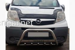 Защита передняя - кенгурятник (с надписью Vivaro) Opel Vivaro 2001-2014