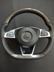 Карбоновый руль Mercedes Benz W292 AMG GLE Class Coupe