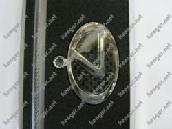 Брелок на ключи  Lexus  (на тросике, карбон черный)