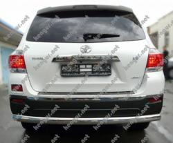 Защитная труба заднего бампера Toyota Highlander