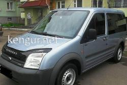 Дефлектор капота - мухобойка (VIP) Ford Connect 2002-2006