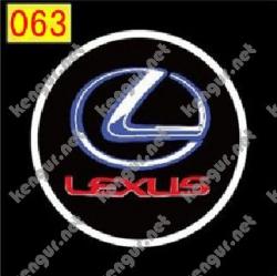 Лазерная подсветка дверей с логотипом Lexus (№063)