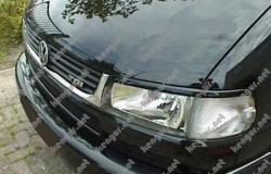 Реснички (накладки на фары) VW T4 1990-2003