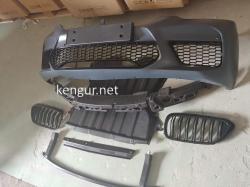 Передний бампер- решетка радиатора BMW G30 стиль M5