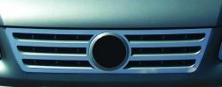 Накладка на решетку радиатора (Carmos) VW Caddy 2003-2010
