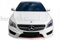 Решетка радиатора Diamond (black) Mercedes CLA W117 2013-2016