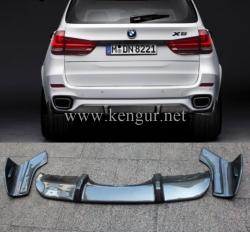 Карбоновый диффузор заднего бампера BMW X5 F15 M-Performance 51192339222