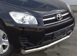 Защитная дуга по бамперу Toyota Rav 4 (2011-...) одинарная 5217142020