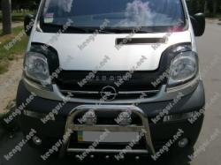 Дефлектор капота, мухобойка Opel Vivaro (VIP)