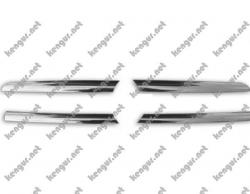 Накладки на решетку радиатора (4 элемента)