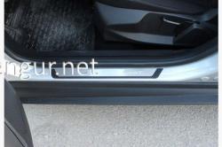 Накладки на пороги Nissan Juke 2010-...