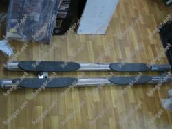 Пороги боковые, защитные дуги (трубы) Mitsubishi Outlander XL