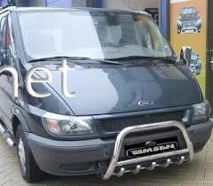 Защита переднего бампера - кенгурятник (Tamsan) Ford Transit 2001-…