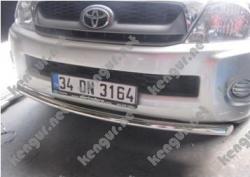 Защитная дуга по бамперу Toyota Hilux одинарная