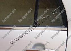 Наружняя окантовка стекол Накладки на пороги Toyota Corolla (нерж.) 4 шт.