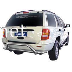 Защита заднего бампера HEB-66 (D080019) Jeep Grand Cherokee 1999-2004