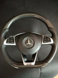 Руль карбоновый Mercedes Benz S Class W222  Brabus