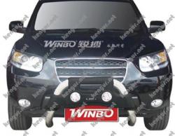 Защитная дуга переднего бампера Hyundai Santa Fe