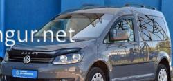 Дефлектор капота (VIP) VW Caddy 2010-2015