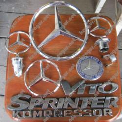 Значки эмблемы на Mercedes