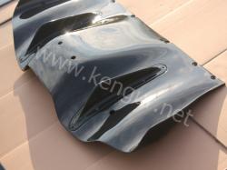 Карбоновый задний диффузор на Ferrari 458 Italia