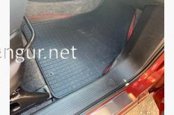 Коврики резиновые передние (Polуtep) Fiat Fiorino 2008-...