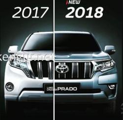 Комплект рестайлинга Toyota Land Cruiser Prado 150 2009-2017 в 2018 г