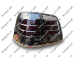 Задние фонари диодные (тонированный хром)