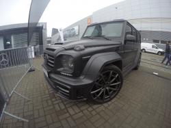Карбоновый обвес стиль Mansory Gronos Mercedes-Benz G-Class W463