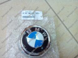 Эмблема на крышку багажника BMW X6 51147196559