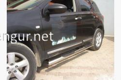 Пороги боковые (трубы) Nissan Qashqai 2007-…