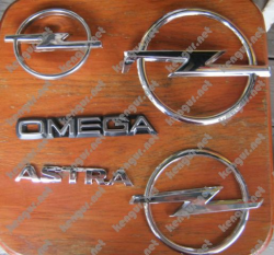 Значки эмблемы на Opel