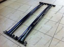Поперечины под рейлинги аэродинамические черные Honda CR-V 2013
