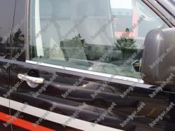 Молдинги стекол Volkswagen T6 ( 2 шт)