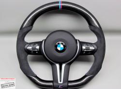 Карбоновый  руль на BMW M3