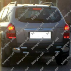 Защитная дуга заднего бампера Hyundai Tucson #625020