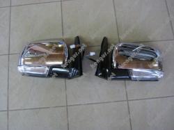 Зеркало Mitsubishi Pajero Wagon IV (хром) L7632A655 R7632A656