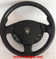 Руль карбоновый Maserati GranCabrio, Ghibli, Levante, Quattroport, GranTurismo
