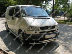 Защитная дуга по бамперу Volkswagen T4 двойной ус