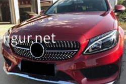 Решетка радиатора Diamond Mercedes W205 2014-...