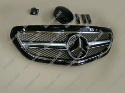 Решетка радиатора Mercedes E-class W212 (2014)