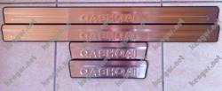 Накладки на пороги Nissan Qashqai (в салон)