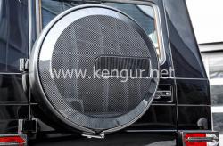 Карбоновый чехол запасного колеса G-Class W463