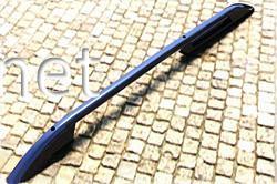 Рейлинги (Crown Black) Fiat Doblo 2010-2015 длинная база