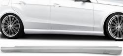 Пороги  AMG  Mercedes E-class W212